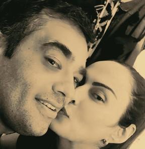 Núbia Óliiver e Paulo Santana  (Foto: Instagram / Reprodução)