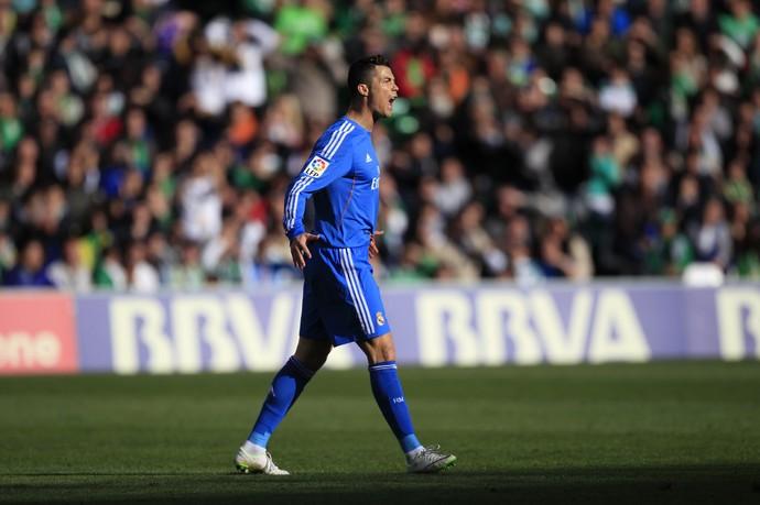 cristiano ronaldo real madrid x betis (Foto: Reuters)