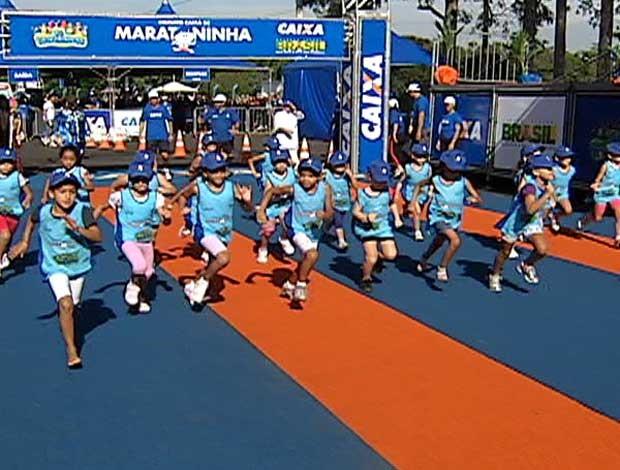 Maratoninha Uberlândia 2012 (Foto: Reprodução / Tv Integração)