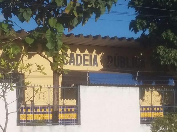 Cadeia fica em Cristalândia, região central do Tocantins (Foto: Ana Paula Rehbein/TV Anhanguera)