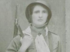 Maria Sguassábia lutou na Revolução de 32 e prendeu um tenente mineiro (Foto: Reprodução/EPTV)