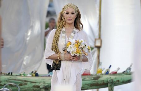 No remake de 'Ti-ti-ti', de 2011,  a atriz viveu a divertida estilista Jaqueline Maldonado Divulgação/Alex Carvalho