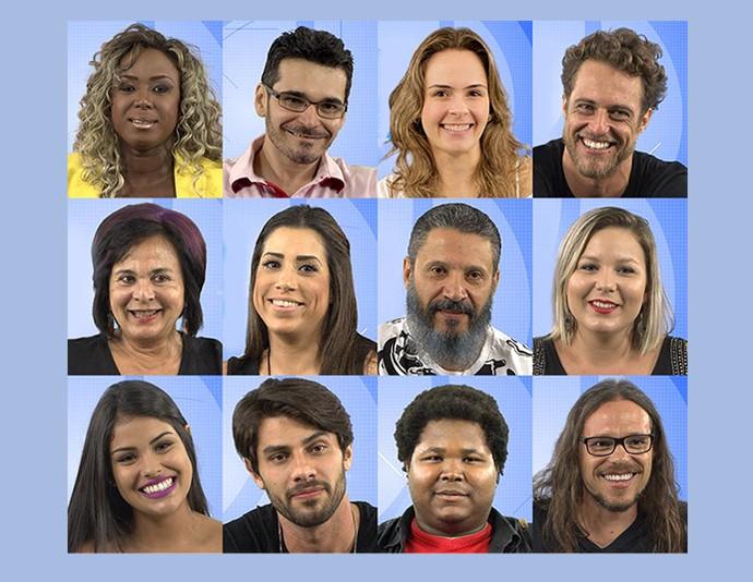 Participantes do BBB16 (Foto: Gshow)