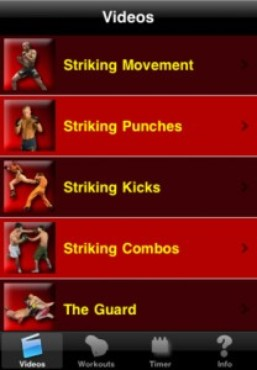 screenshot de My MMA Trainer
