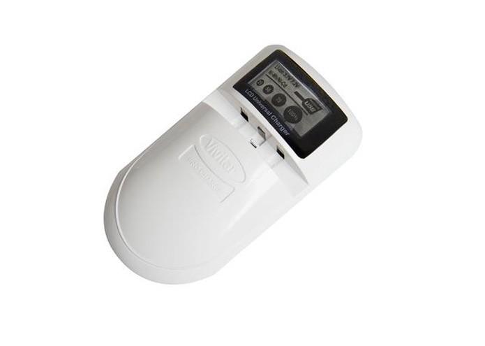 O carregador Vivitar conta também com entrada USB para carga de outros dispositivos carregáveis (Foto: Divulgação)