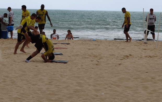 Treino do Sport (Foto: Elton de Castro/Globoesporte.com/PE)