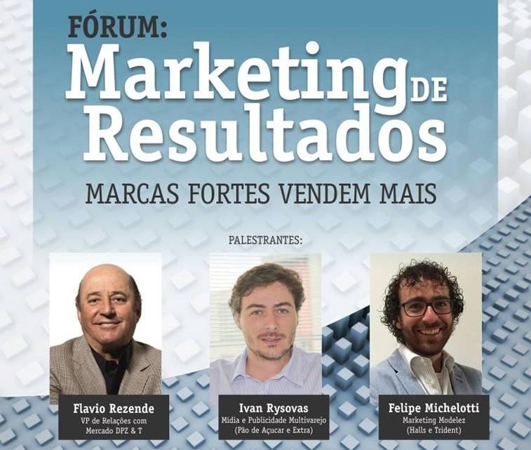 1º Fórum de Marketing de Resultados: Marcas fortes Vendem mais (Foto: TV Tribuna)