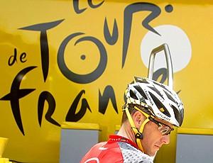 Lance Armstrong na Volta da França (Foto: EFE)