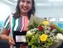 Colaborada da Clube conquista o título de melhor vendedora da Globo no NE