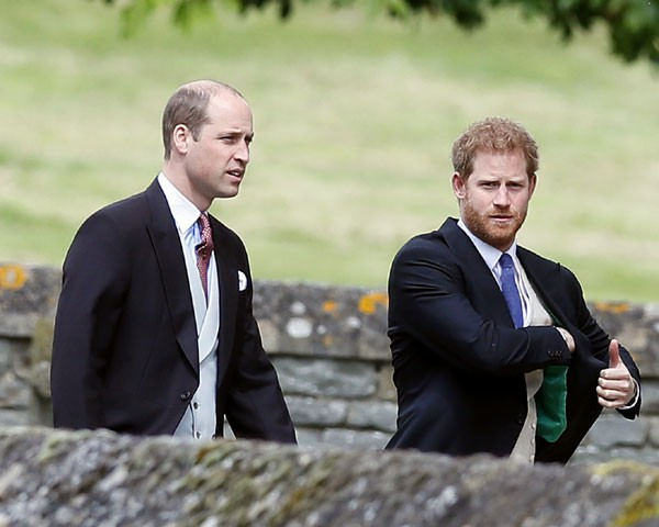 Príncipe William e Príncipe Harry (Foto: Getty Images)