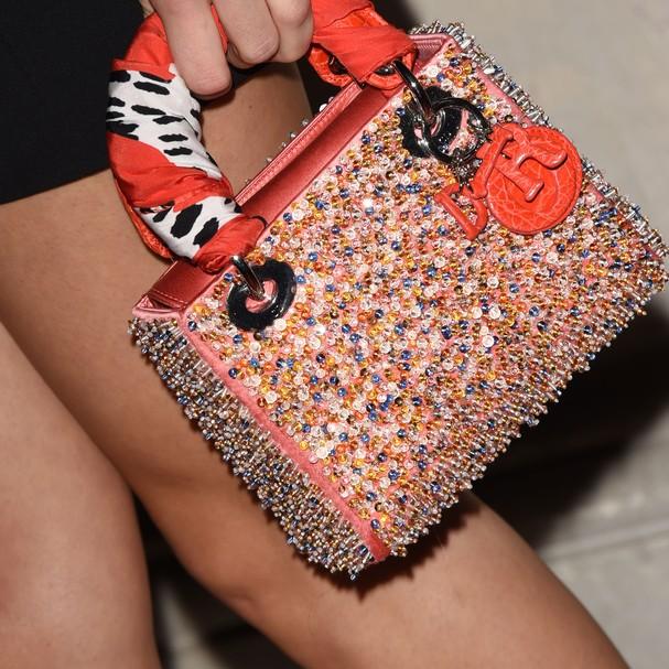 A bolsa Lady Dior em uma das versões modernas da marca (Foto: Getty Images)