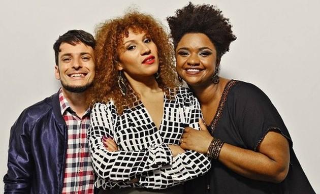 Fernando Oliveira,  Mel Gonçalves e Ellen Oléria  (Foto: Divulgação)