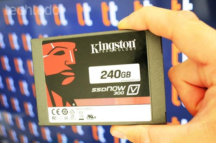 Discos SSD melhoram performance do computador e os HDs podem ser usados em conjunto. (Foto: Adriano Hamaguchi/TechTudo)