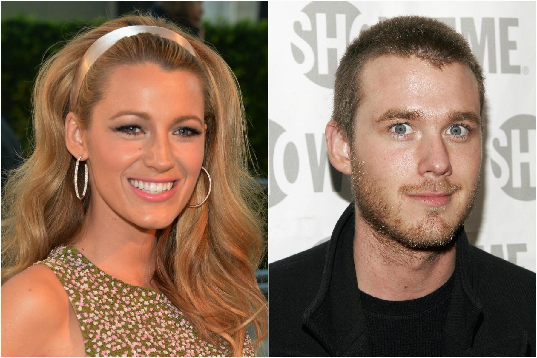 Os irmãos e atores Blake Lively, de 26 anos, e Eric Lively, de 32. (Foto: Getty Images)