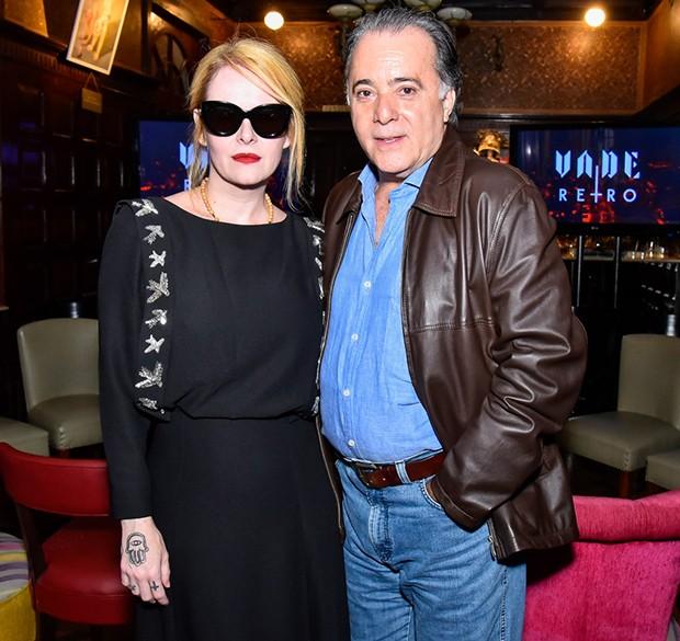 Tony Ramos e Fernanda Young (Foto: Caio Duran/Brazil News)