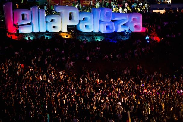 O Lollapalooza acontece em SP nos dias 12 e 13 de março (Foto: Getty Images)