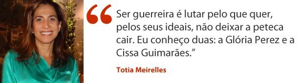 Totia Meirelles (Foto: Salve Jorge/TV Globo)