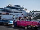 Primeiro cruzeiro dos EUA rumo a Cuba em 50 anos chega a Havana
