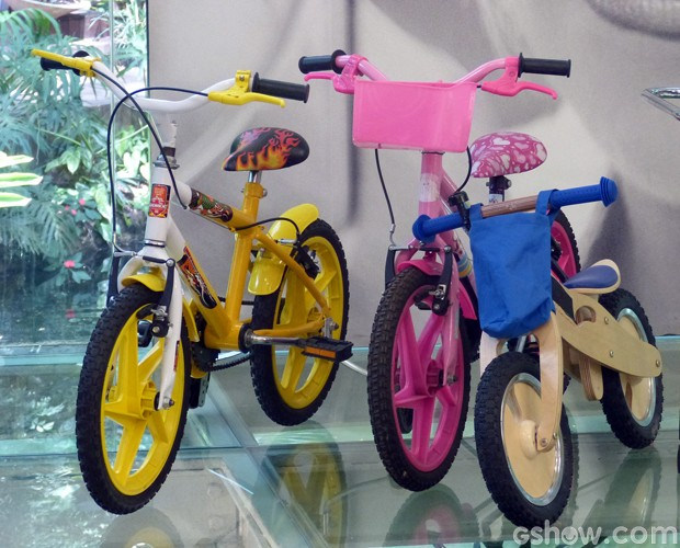 519293967 Ana Maria mostrou vários tipos de bicicletas na Casa de Cristal (Foto  Mais  Você