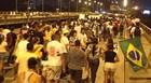 PI: polícia estima 15 mil pessoas em ato (Pedro Santiago/G1)