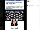 Jovem tem fotos roubadas em rede social por perfil que aplica golpes