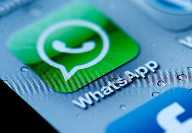 Celular mostra aplicativo WhatsApp (Foto: Reprodução/Facebook)