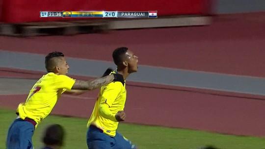 Equador vence Paraguai, evita sorteio e deixa Brasil em terceiro no Grupo A