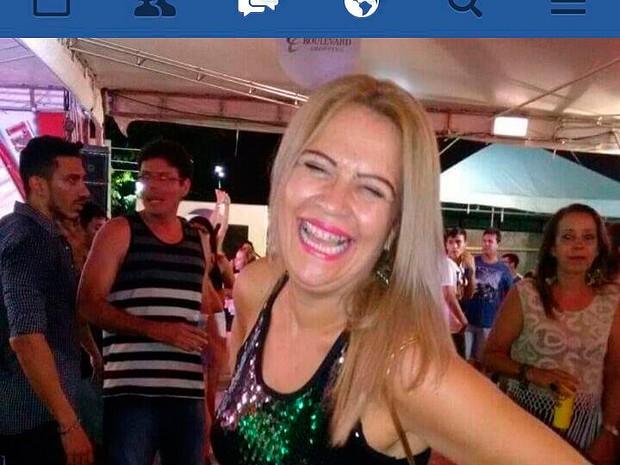 Subtenente Wagna foi achada morta na Bahia (Foto: Polícia Civil/ Divulgação)