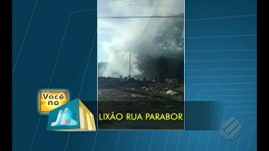 Moradora denuncia local de despejo irregular de lixo em Ananindeua