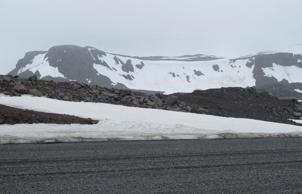 Região do continente antártico próximo à base chilena (Foto: Eduardo Carvalho/G1)