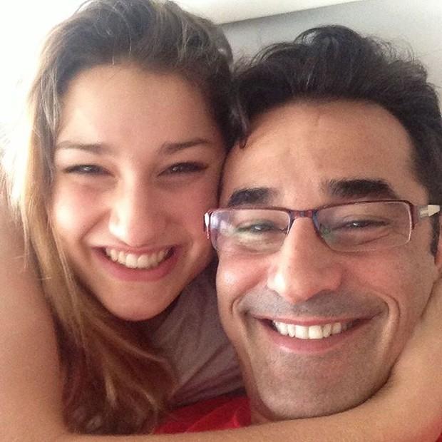 Luciano Szafir e Sasha (Foto: Instagram/Reprodução)