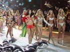 Angels desfilam de lingerie no Victoria's Secret Fashion Show