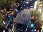 Policiais morrem depois de ônibus cair em rio seco na Argentina