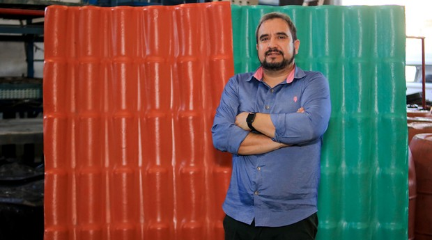 Leonardo Retto, fundador da Telhas Telite (Foto: Divulgação)