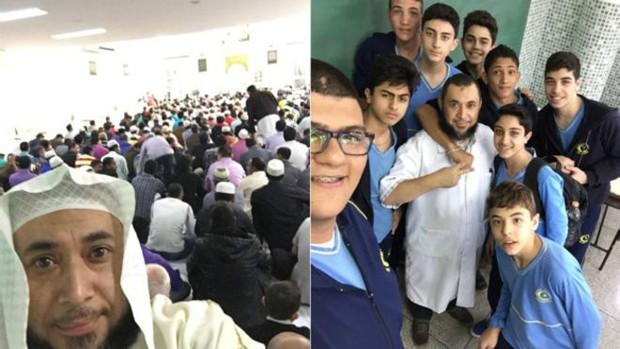 Atuação nas redes sociais aproxima sheiks de filhos de muçulmanos e de jovens brasileiros convertidos à religião (Foto: Arquivo pessoal)