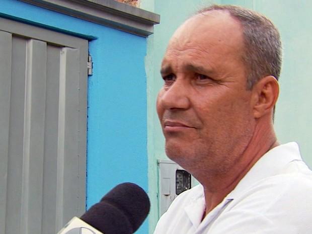 'Só quem perde sente a dor', disse pai de mulher morta por ex-marido em São Sebastião do Paraíso (MG) (Foto: Reprodução EPTV)