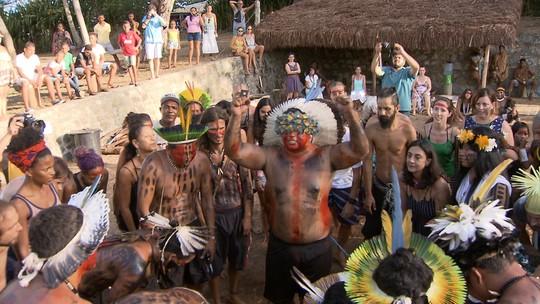 Encontro indígena em Imbassaí reúne diferentes tribos da Bahia e população não-indígena