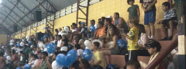 Copa TV TEM, torcida em São Roque (Foto: Rafaela Gonçalves / GloboEsporte.com)