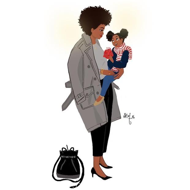 Nicholle Kobi:mamães sempre elegantes (Foto: Reprodução Instagram)