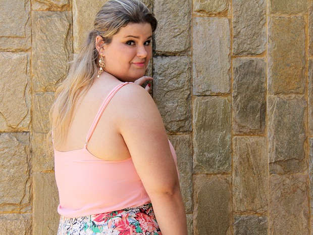 Jornalista Paula Bastos cria blog de moda e comportamento para mulheres acima do peso (Foto: Arquivo pessoal)
