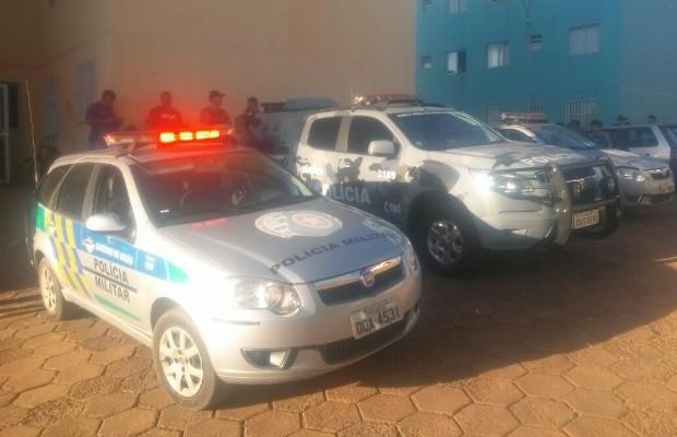 Garoto mata padrasto policial a tiros para defender mãe em briga, diz PM em Goiás (Foto: Divulgação/PM)