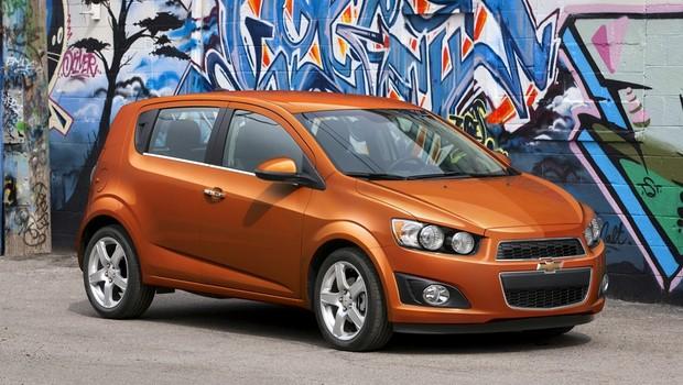 Chevrolet Sonic LTZ 2012 (Foto: General Motors)