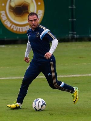 Bruno Cesar, Palmeiras jogo-treino Guarujá (Foto: Leandro Martins/Futura Press)