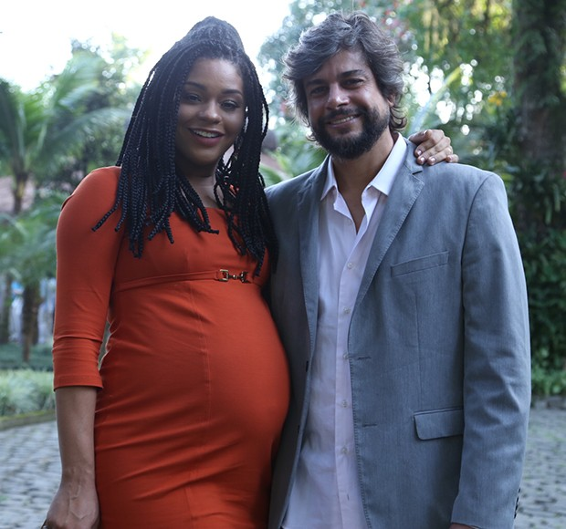 Juliana Alves e Ernani Nunes (Foto: Anderson Borde / AgNews)