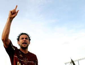 Fred fluminense comemoração campeão brasileiro 2012 (Foto: Alexandre Durão / Globoesporte.com)