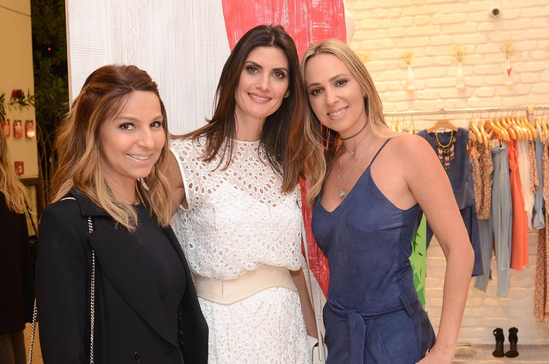 Sandra de Souza Silva, Isabella Fiorentino e Luciana Salem (Foto: Rodrigo Zorzi)
