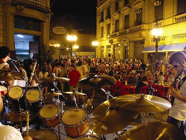 Happy Centro terá muita para todos os gostos no Centro Histórico de Santos (Foto: Divulgação / Prefeitura de Santos)