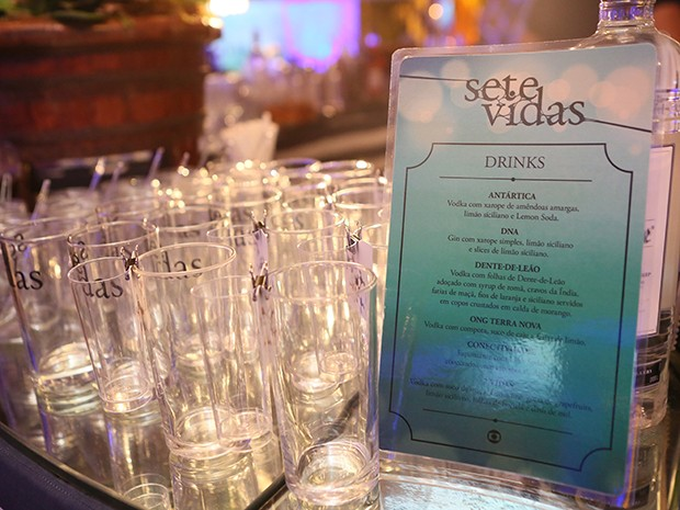 Festa tem buffet especial (Foto: Isabella Pinheiro/Gshow)
