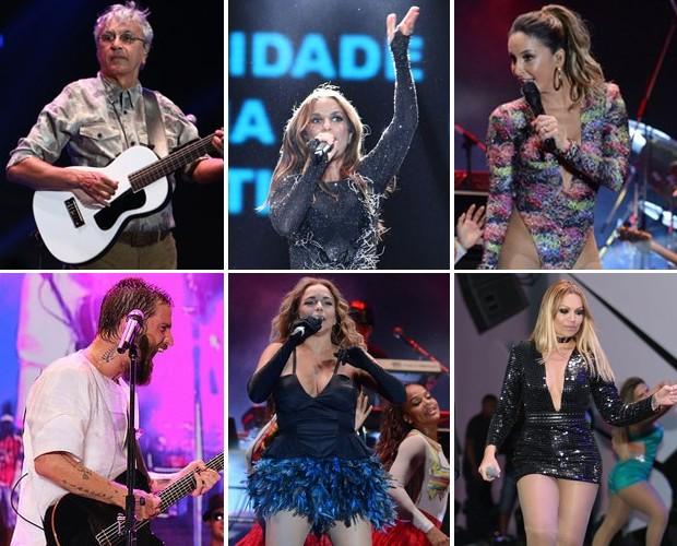Ivete Sangalo, Caetano Veloso, Claudia Leitte, Saulo e muitas outras atrações do Festival de Verão 2015 (Foto: Gshow)
