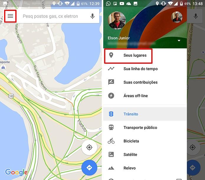 Como salvar e dar apelido aos seus lugares favoritos no google maps usurio pode editar apelidos de etiquetas j existentes no google maps foto reproduo reheart Images